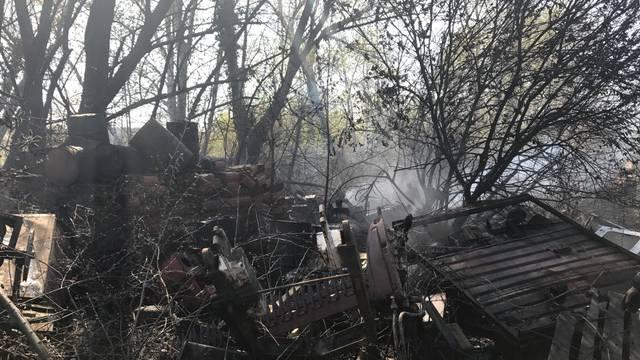 Eksplodirala bačva s otpadnim uljem: Proširio se požar s polja