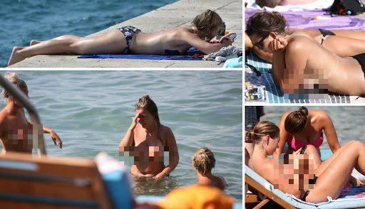 Ljeto na našim plažama: Split 'okupirale' ljepotice u toplesu