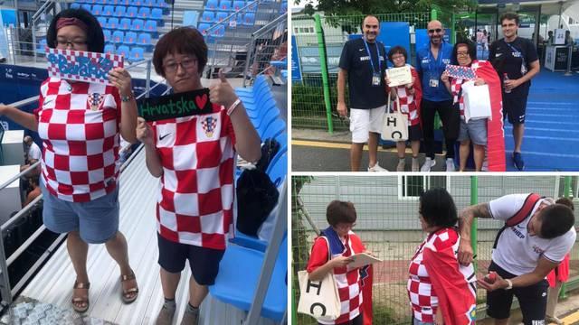 Ajmo, 'barakude': Dvije Korejke oduševile hrvatske vaterpoliste