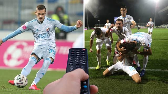 Evo gdje pogledati utakmice Dinamo - WAC i Rijeka - Napoli