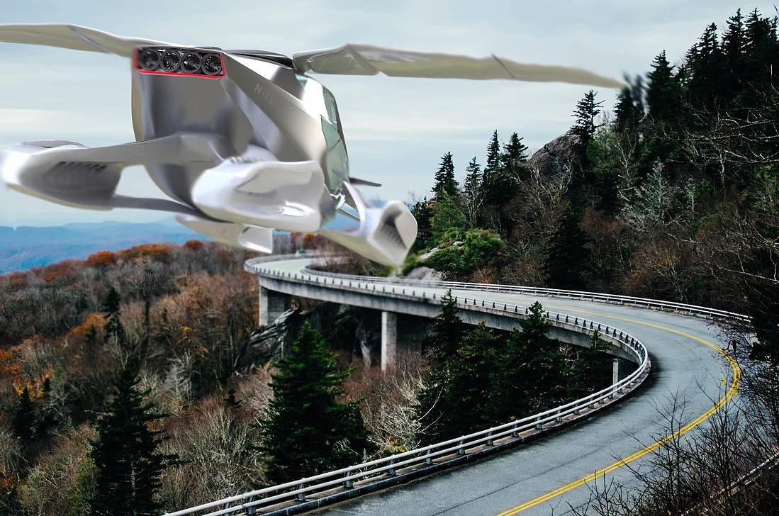 Ne trebate ni dozvolu: Leteći taksi u zraku već iduće godine