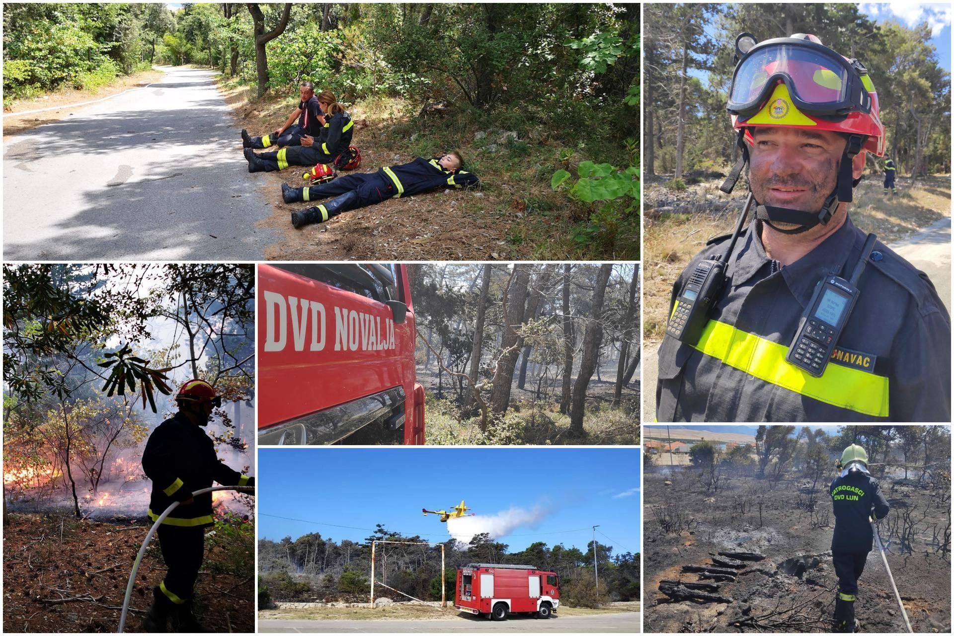 Lokalizirali požar na Zrću, ostaju na terenu da se ne rasplamsa