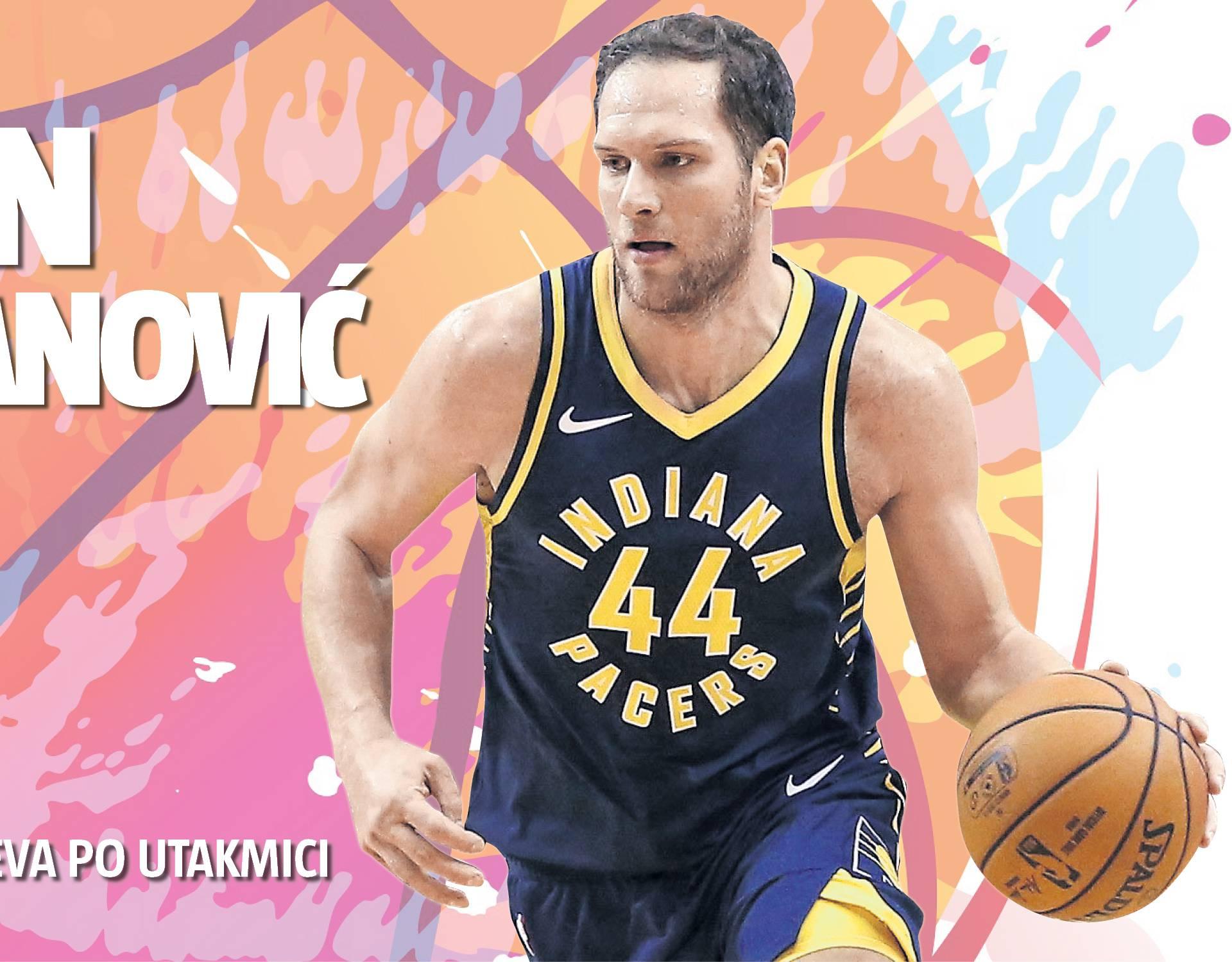 Dominacija! Bojan Bogdanović postao prava zvijezda u NBA