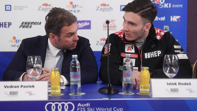 Zagreb: Konferencija za medije na kojoj je najavljen Snow Queen Trophy 2020.