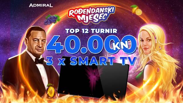 Admiral daruje 40.000 kuna i 3 Smart TV-a
