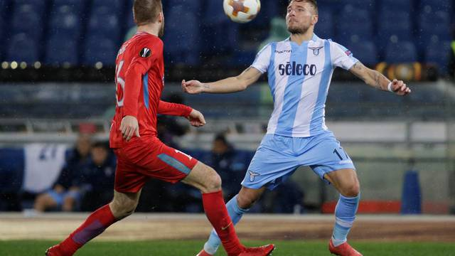Europa League Round of 32 Second Leg - Lazio vs Steaua Bucharest