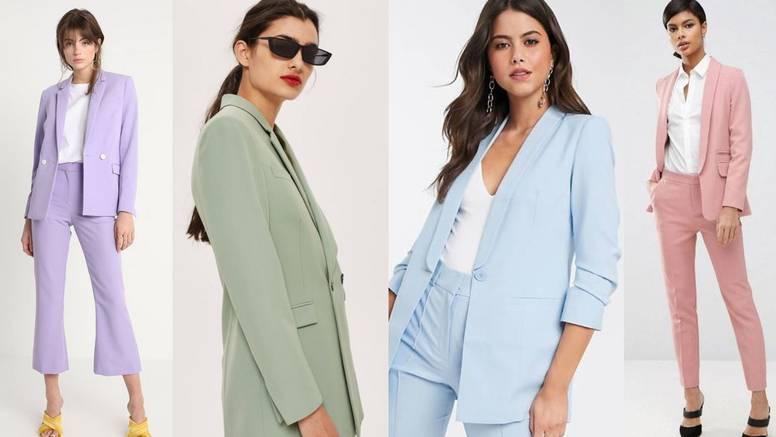 Uredski stil: Pastelna odijela za ljetnu i chic poslovnu eleganciju