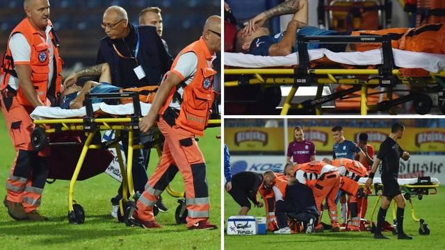 Stravične scene: Mladi veznjak pretrpio vanjski prijelom noge