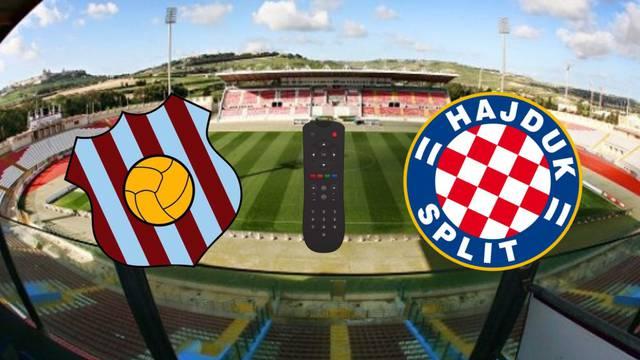 Evo gdje gledati prvi europski susret Hajduka i Gzire United