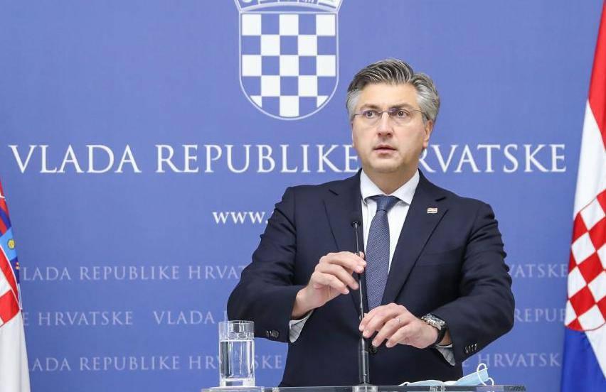 Zagreb: Plenković o nastavku mjera za očuvanje radnih mjesta