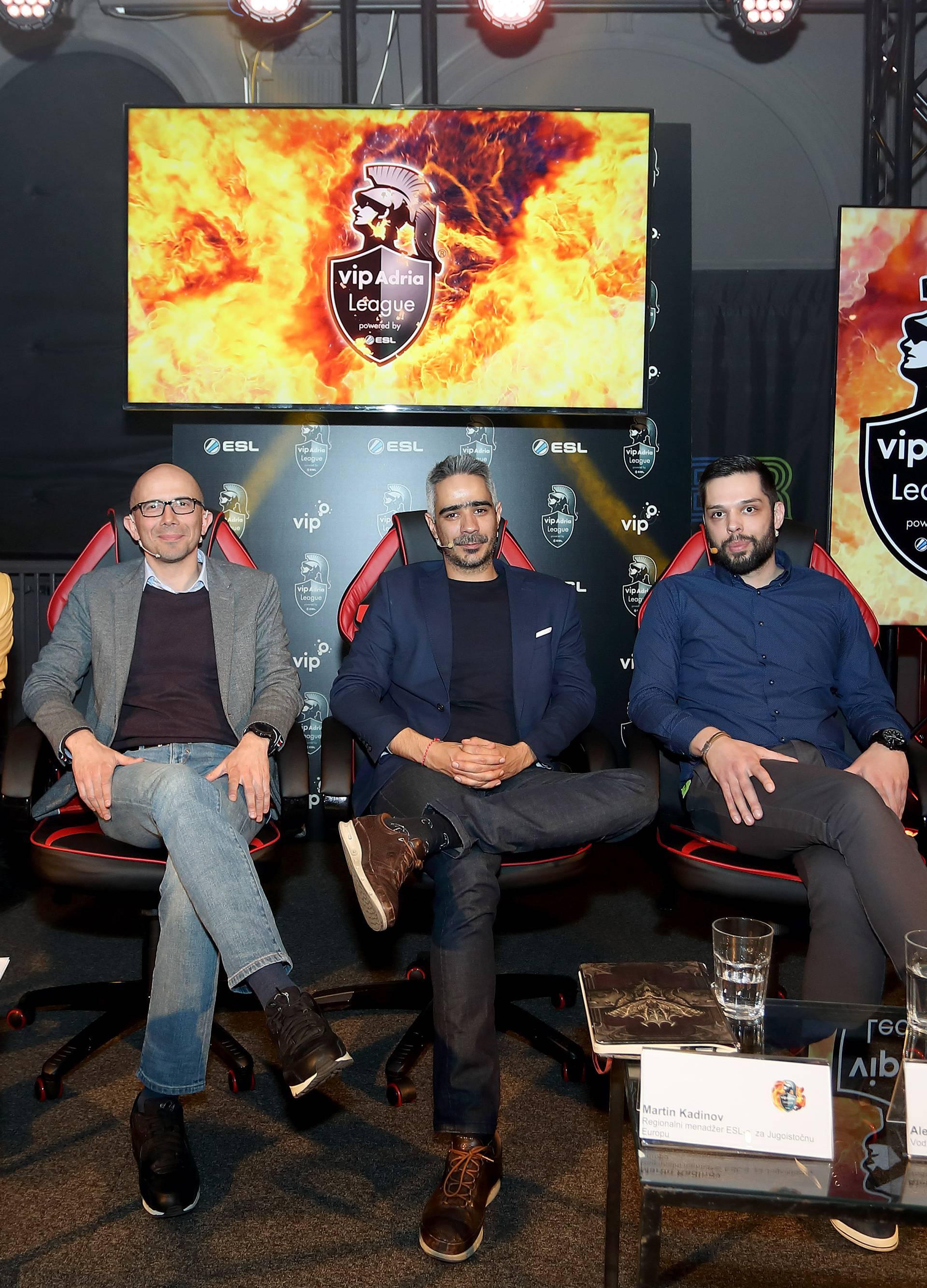 Profesionalne gamere iz Vip Adria lige gledat ćemo na TV-u