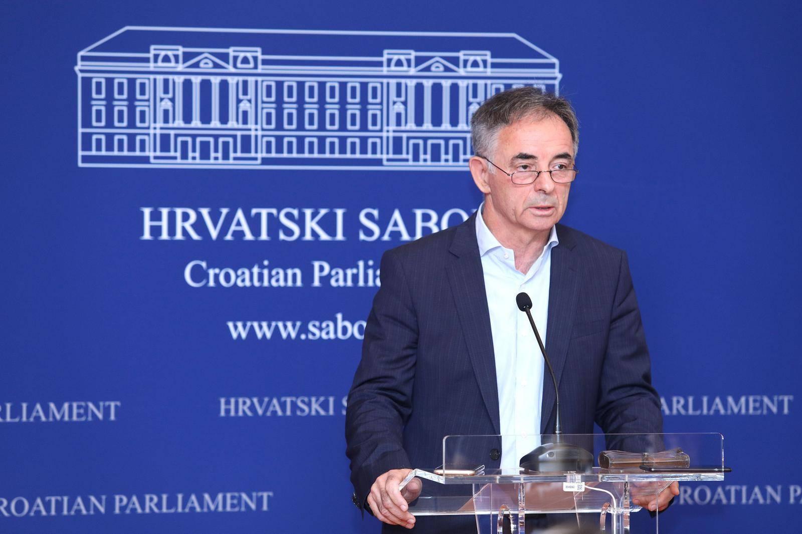 Zagreb: Milorad Pupovac u Saboru održao konferenciju za medije