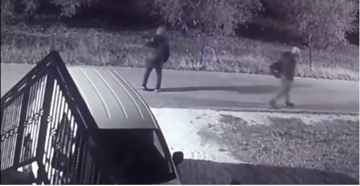 Migranti u Metkoviću: Uhvatio ih video nadzor obiteljske kuće