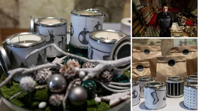 Lukse mirišu na karamelizirane jabuke i božićno drvce i pakiraju se u  škarnicl što ljudi baš cijene