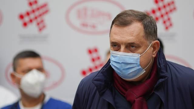 Banja Luka: Milorad Dodik obratio se medijima nakon izlaska iz bolnice
