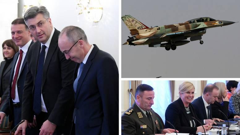 Vijeće je odlučilo: Hrvatska će kupiti avione F-16 od Izraela