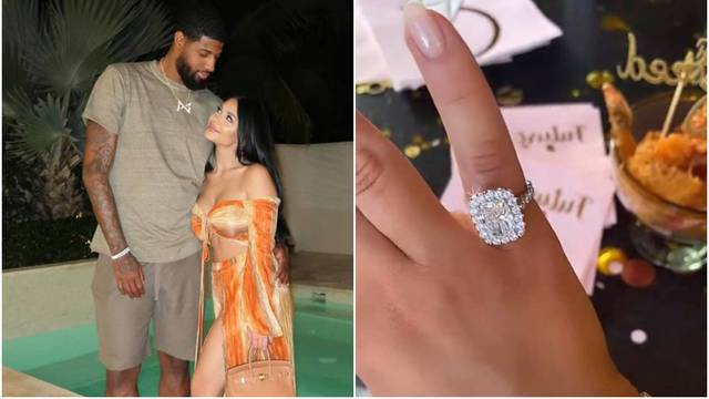 Dijamantni prsten kojim je NBA zvijezda zaprosila Srpkinju Rajić vrijedi vrtoglavih 350 tisuća kn