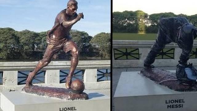 Vandali uništili Leovu statuu: Argentincu su 'odsjekli' glavu