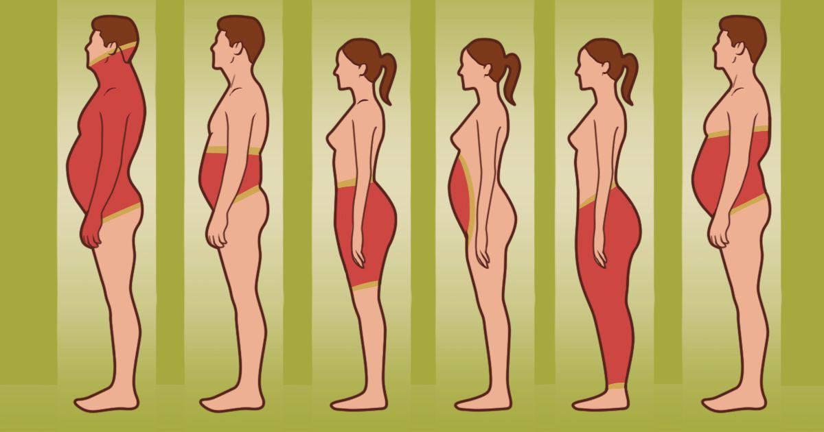 Gdje se kod vas mast skuplja u tijelu? To otkriva vaše zdravlje