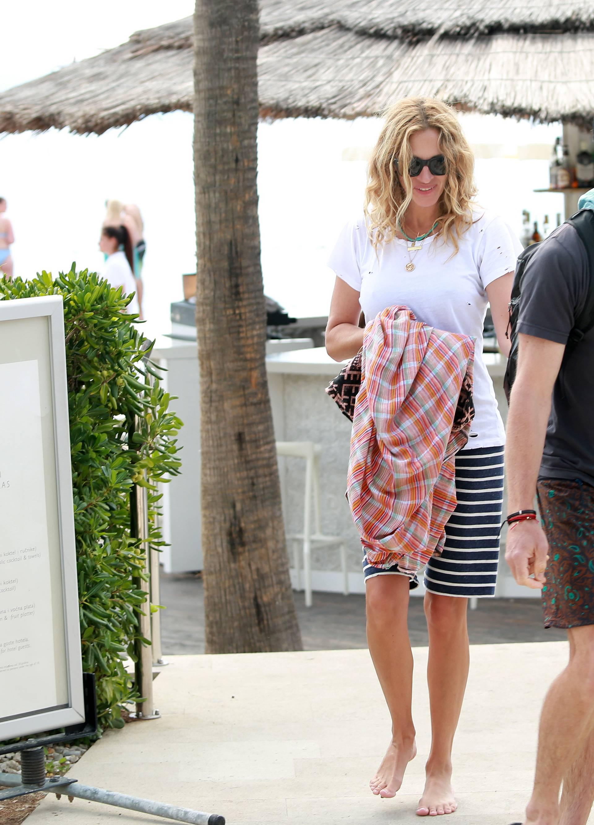 Julia Roberts uživa s djecom i suprugom na splitskoj plaži