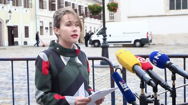 Zagreb: Konferencija za medije Marije Selak Raspudić