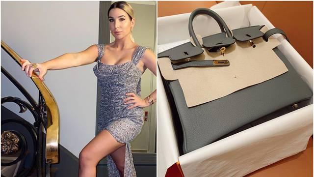 Žena Dinamovog nogometaša kupila torbu od 120 tisuća kuna