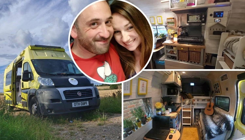 Par je preuredio staro bolničko vozilo u mobilnu kućicu iz snova