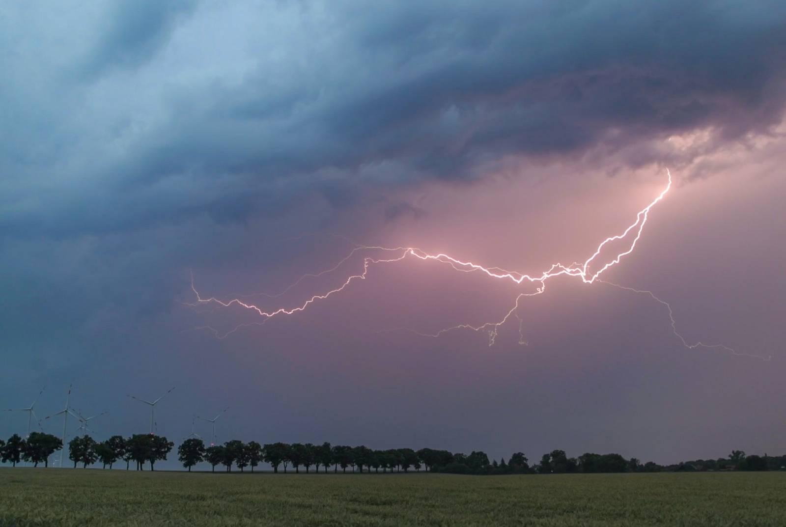 Thunderstorm over Brandenburg