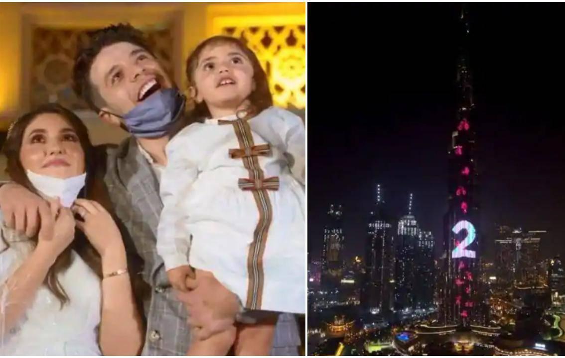 Influenceri iskeširali 600 tisuća kuna da im se spol nerođenog djeteta objavi na Burj Khalifi