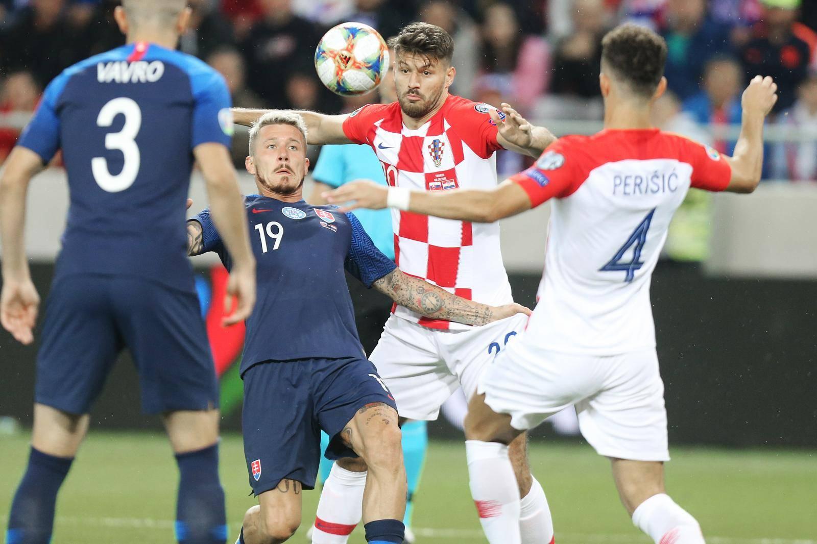 Trnava: Kvalifikacijska utakmica Slovačke i Hrvatske za Europsko prvenstvo