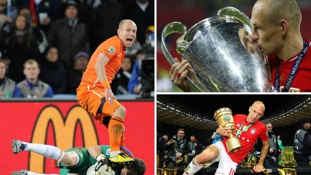 Zlatna ljevica odlazi u povijest! Robben je otišao u mirovinu...