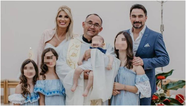 Jole je krstio sina, a na slavlju je zapjevala njegova supruga