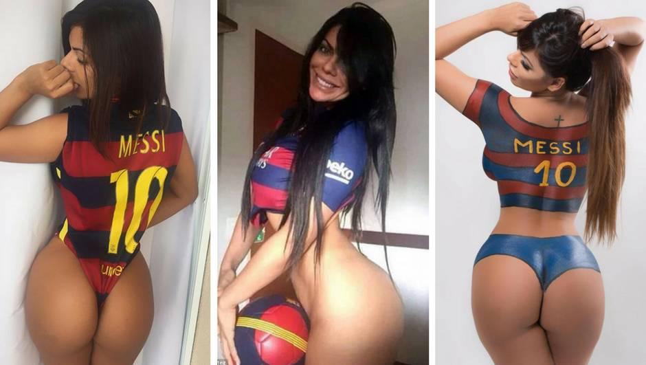 Messi, ova bujna gospodična te moli da produljiš svoj ugovor...