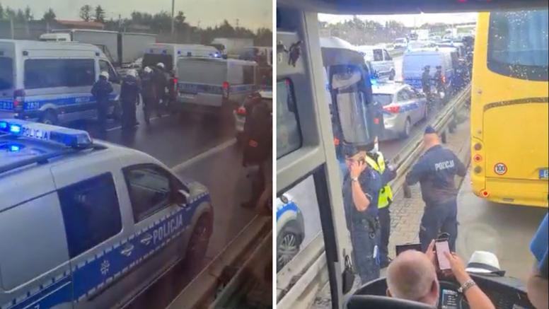 VIDEO Pogledajte kako je poljska policija deportirala Boyse: 'J…te koliko ih ima'