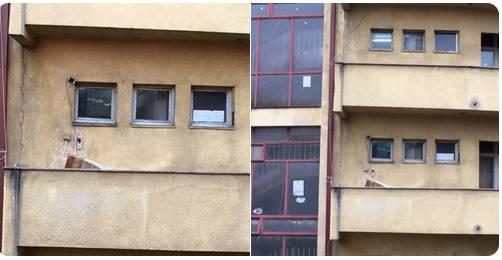 Vidjeli nešto čudno: 'Što je to na zgradi studentskog doma?'