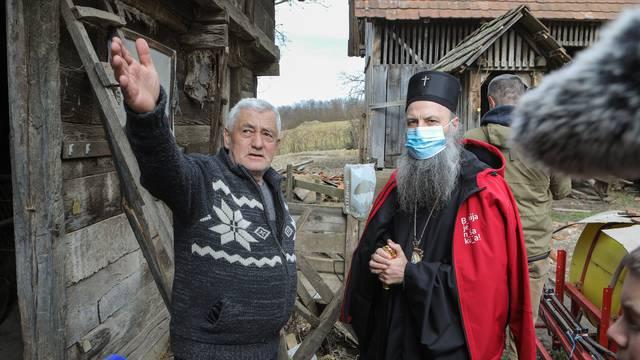 Patrijarh Porfirije na Baniji: Računajte na nas, kao što je Đorđe Balašević pjevao
