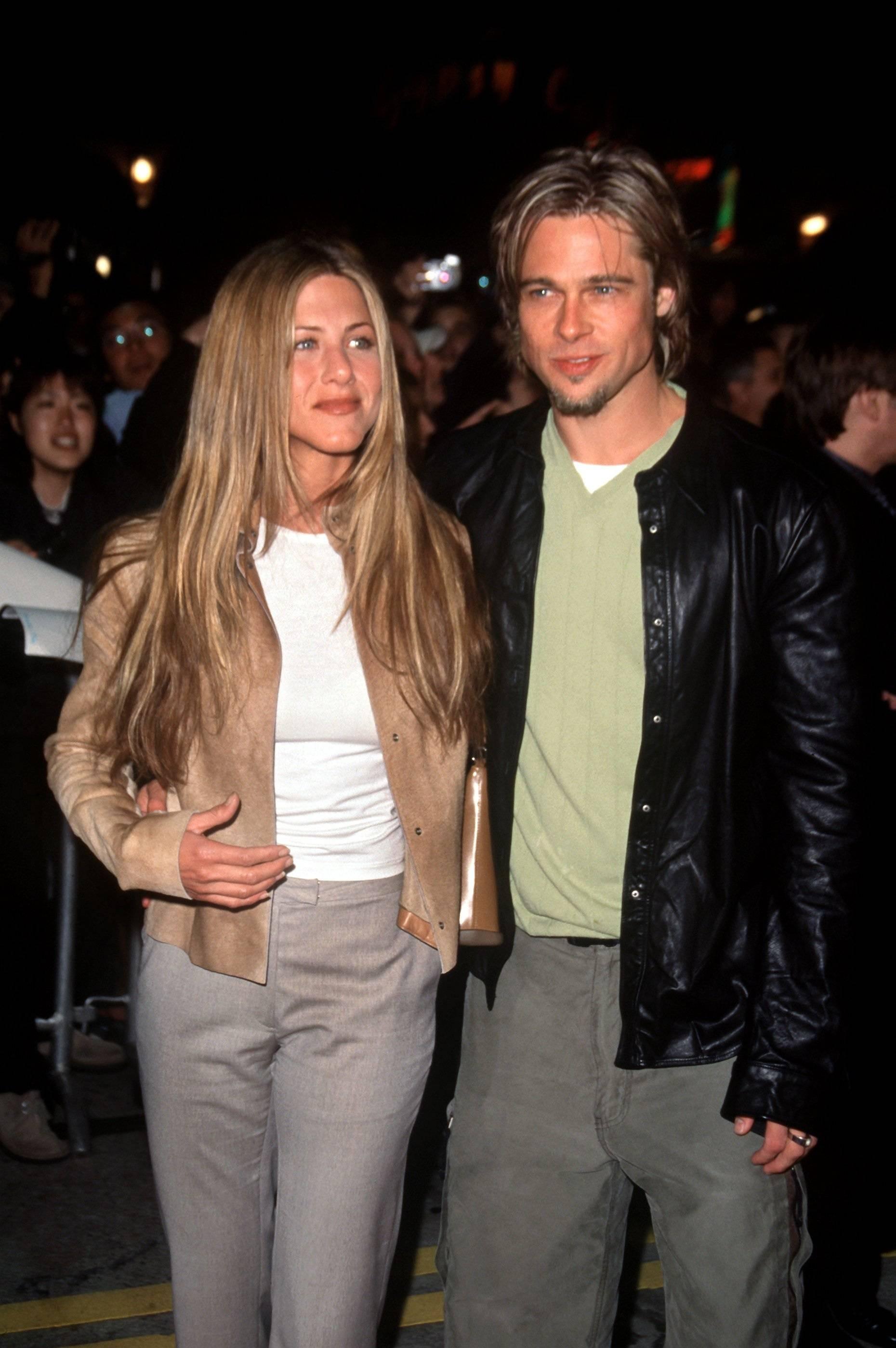 Brad Pitt and Jennifer Aniston allegedly broke up