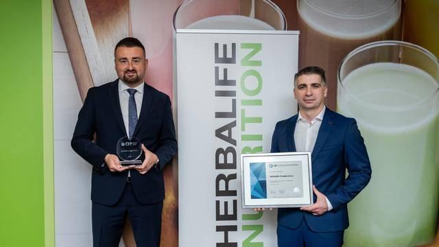 Tvrtka Herbalife dobila priznanje za upravljanje ljudskim resursima
