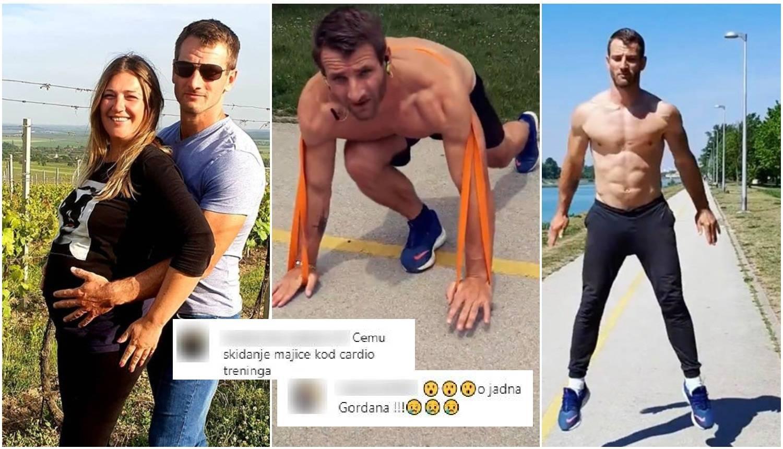 Adam golišav poziva na trening pa dobiva poruke: 'Jadna Goga'