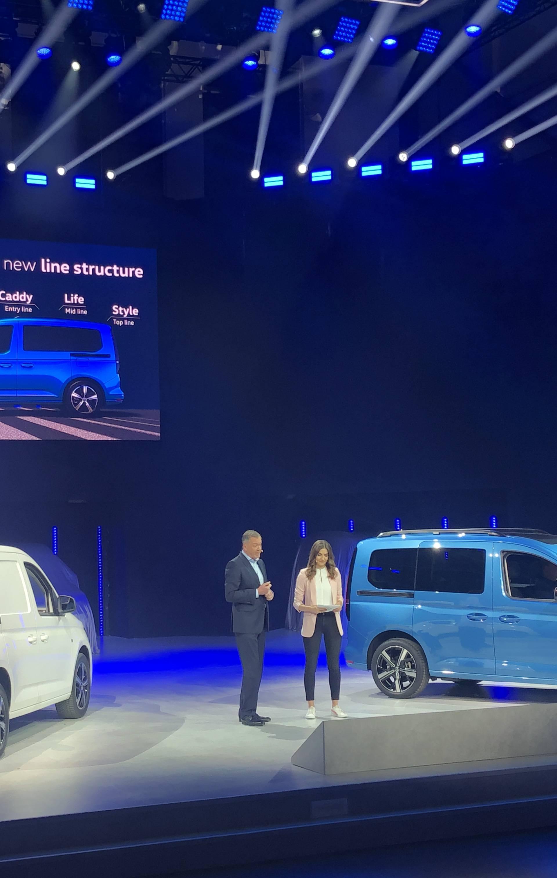 Novi VW Caddy je svestran i prostran sa šarmom Golfa