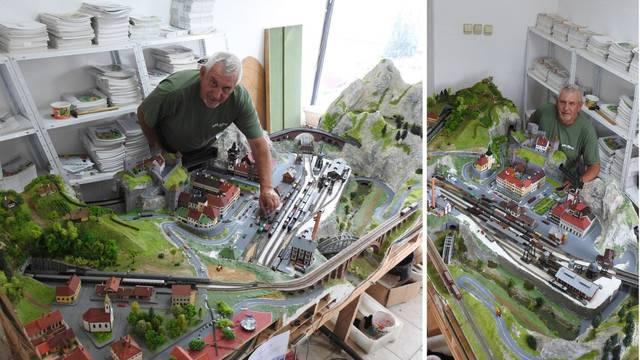 Moje remek-djelo: Branimirova maketa željeznice na tri nivoa je poput bajkovitog grada iz snova