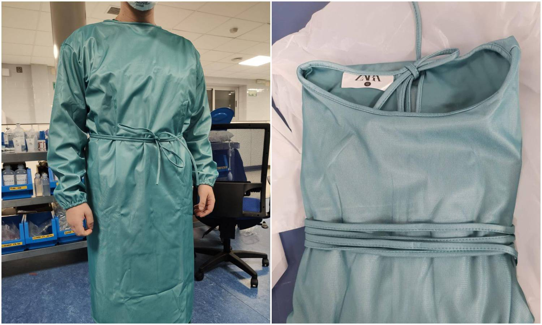 Zara počela s proizvodnjom zaštitnih odijela za bolnice