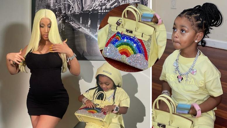 Cardi B na torbu za trogodišnju kći potrošila 320 tisuća kuna