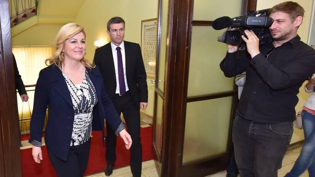 Kolinda je  'preselila' u Zadar: 'Vjerujem u povratak na otoke'