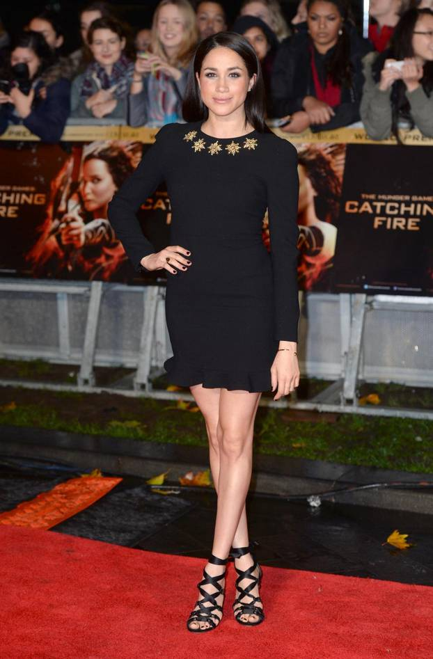 The Hunger Games Catching Fire Premiere - London
