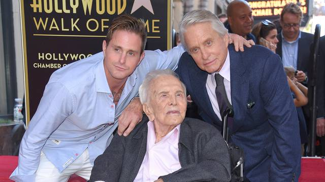 Michael Douglas Hollywood Walk of Fame Ceremony - Los Angeles
