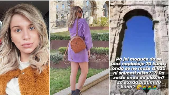 Valentina Tijan ljuta na Arenu: Ulaz 70 kuna, a nema fotkanja?