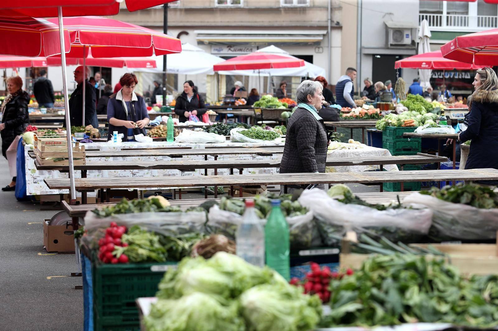 Udruga poljoprivrednika traži: 'Hitno otvorite sve tržnice'