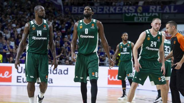 REAL MADRID v PANATHINAIKOS. 3rd match Quarter Finals Turkish Airlines Euroleague.