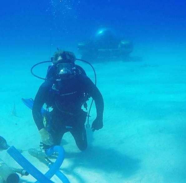 Našao sam olupinu svemirskog broda kod Bermudskog trokuta